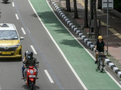 Wagub DKI Katakan Ketertiban di Jalur Sepeda Butuh Kerja Sama dari Masyarakat