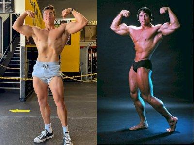 Putra Arnold Schwarzenegger, Joseph Baena Pamerkan Tubuh yang Mirip Ayahnya Sewaktu Muda