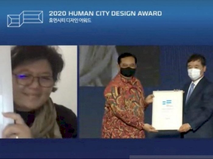 Bangga! Indonesia Raih Finalis 'Human City Design Awards' 2020 di Korsel