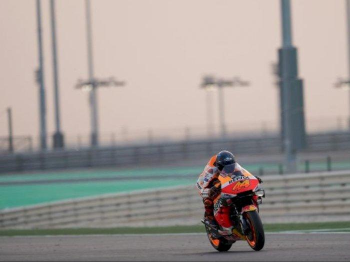 Tes Pramusim MotoGP di Qatar Terganggu Debu dan Angin Kencang