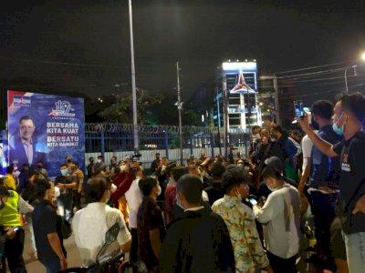 Kantor DPP Demokrat di Jakpus Digeruduk Massa, Polisi: Situasi Kondusif
