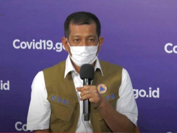 Doni Monardo Sebut Tiga Bulan Belakangan Terjadi Penurunan Angka Kasus Aktif Covid-19