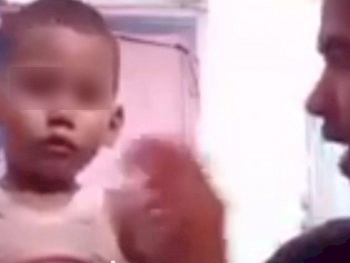 Karena tak Sengaja Melempar Handphone Tersangka, Bocah 2 Tahun jadi Korban Penganiayaan