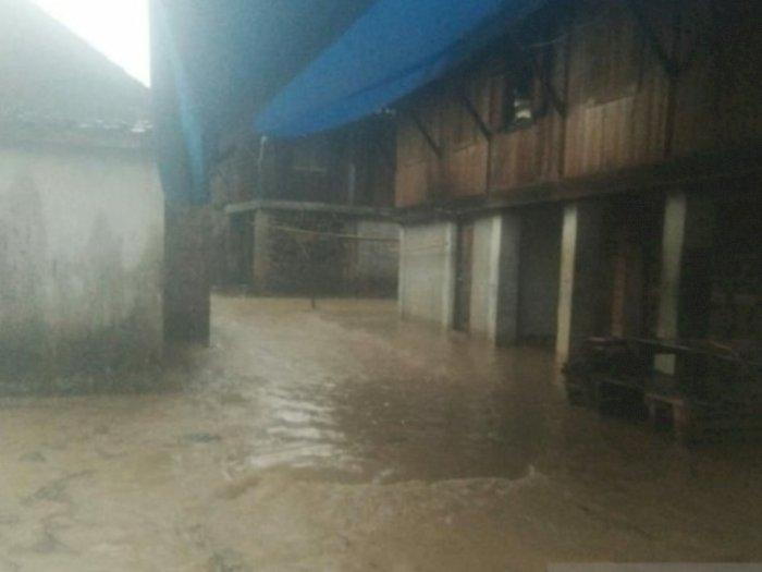 Belasan Rumah di Kota Baturaja Terendam Banjir, Beruntung tak Ada Korban Jiwa