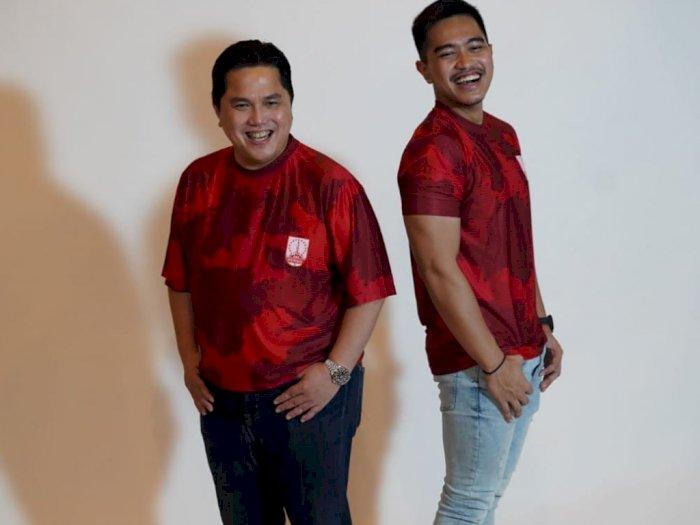 Jadi Pemilik Baru Persis Solo, Erick Thohir Foto Bersama Anak Jokowi, 'Yang Banyak Dicari'
