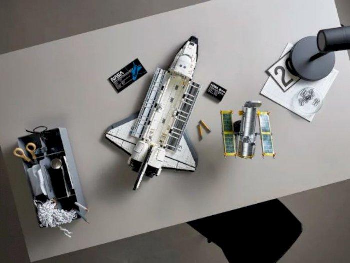 Lego Umumkan Figur Mainan Pesawat Ulang-Alik Terbaru!