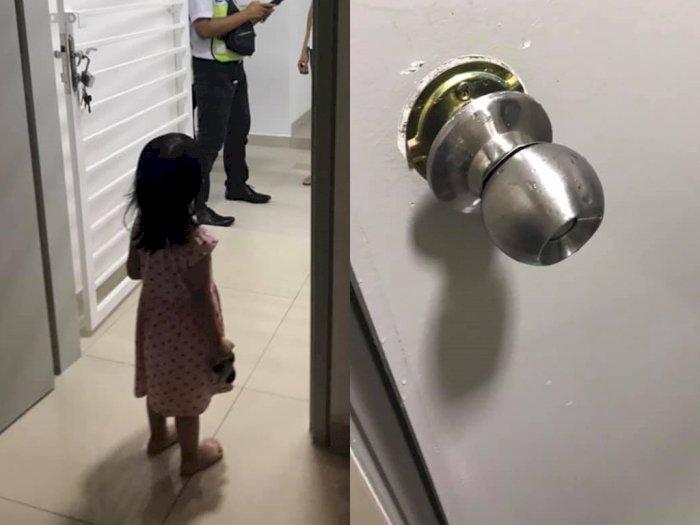 Wanita Ini Bagikan Pengalaman Ngeri Terjebak di Kamar Mandi Selama 7 Jam Bersama 2 Anaknya