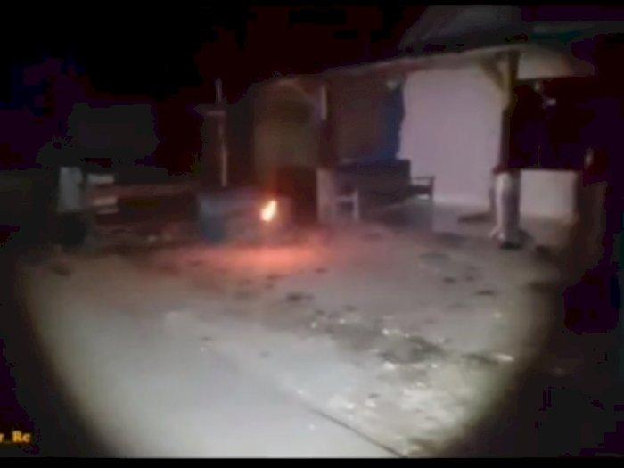 Video Penampakan Bola Api yang melayang, Bikin Netizen Merinding Sekaligus Heran