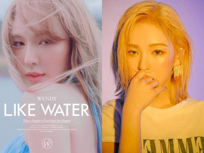 """Wendy Red Velvet Umumkan Bakal Rilis Album Solo Lewat """"Like Water"""" April 2021"""
