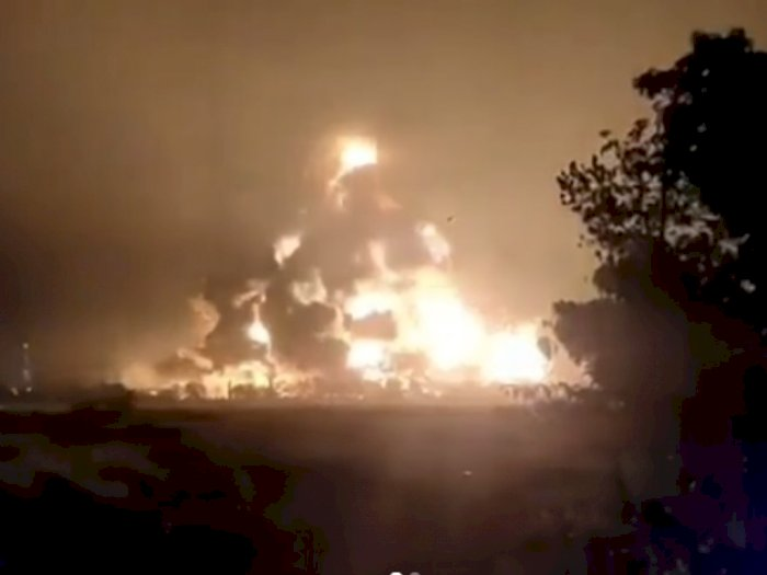 Update Korban Kebakaran Kilang Minyak Indramayu, Ini Rincian dari Polda Jabar