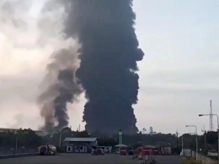 DPR Harap Kejadian Kebakaran di Kilang Minyak Balongan Tak Pengaruh Stok BBM