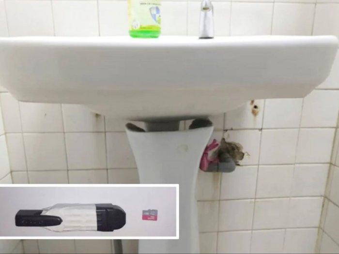 Kamera Berbentuk Pena Ditemukan Tersembunyi di Toilet Wanita, Diduga Milik Karyawan