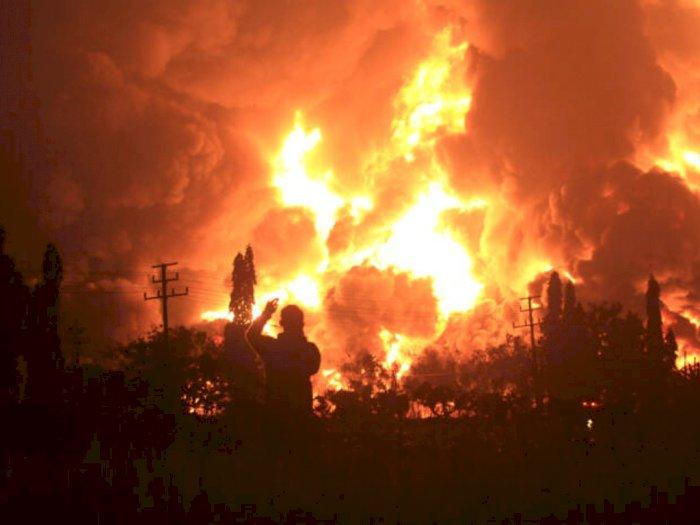 Kebakaran Kilang Minyak, 950 Warga Mengungsi di 3 Titik Lokasi Ini
