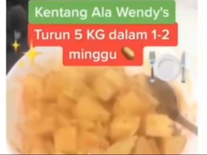 Viral Diet Makan Kentang, Diklaim Bisa Turunkan Berat Badan 5 Kg Dalam Seminggu, Benarkah?