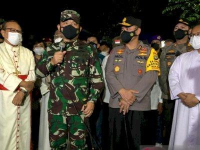 Perketat Penjagaan, Pangdam Jaya dan Kapolda Pastikan Ibadah Paskah di Jakarta Kondusif