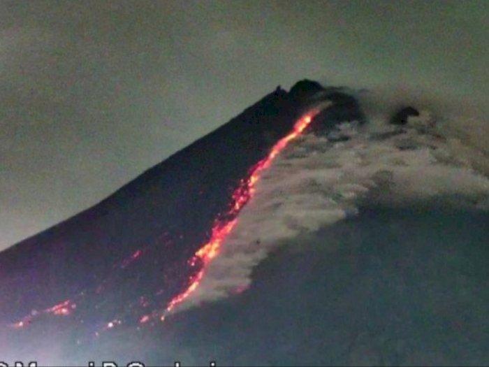 Jumat Pagi, Gunung Merapi Luncurkan 3 Kali Awan Panas Guguran