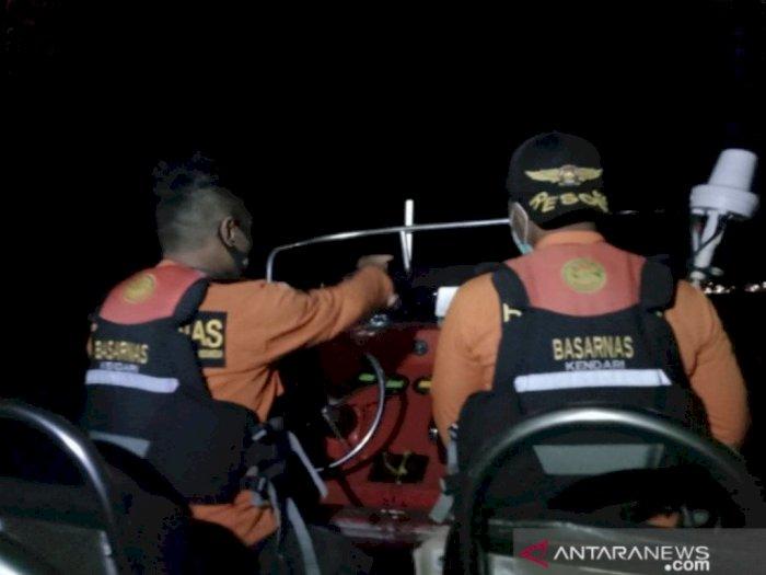 Tim SAR  Berhasil Temukan Nelayan yang Hilang di Perairan Kolaka Keadaan selamat