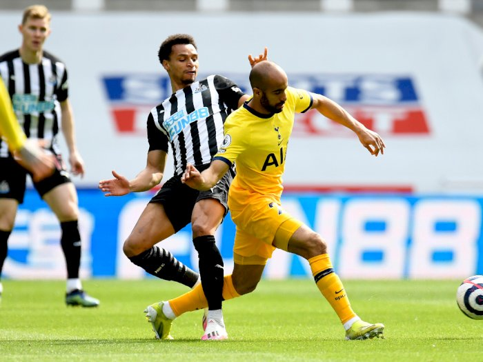 FOTO: Newcastle United VS Tottenham Hotspur Imbang 2-2