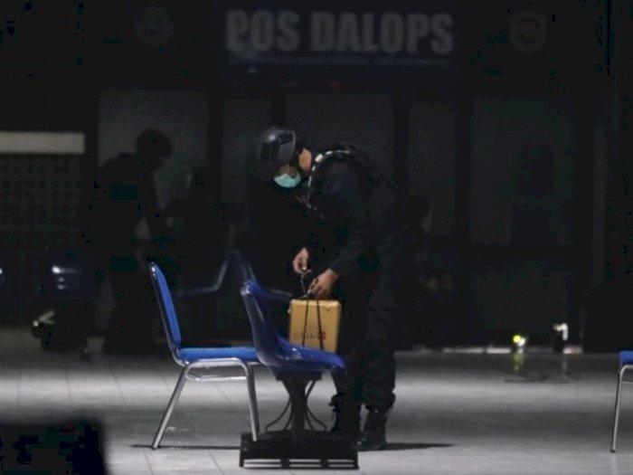 Tim Gegana Amankan Benda Mencurigakan di Terminal Purbaya, Madiun