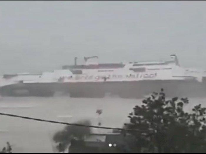 Detik-detik Mengerikan KMP Jatra 1 Tenggelam di Pelabuhan Bolok, Diterjang Angin Kencang
