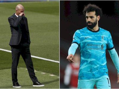 Salah Dirumorkan akan ke Real Madrid, Ini Kata Zidane