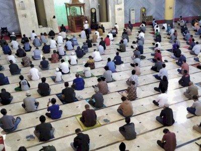 Tarawih Berjamaah di Masjid Diperbolehkan tapi Harus Tetap Sesuai Protokol Kesehatan