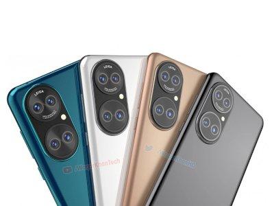 Bocoran Render Huawei P50 Kembali Beredar, Miliki Setup 4 Kamera Belakang