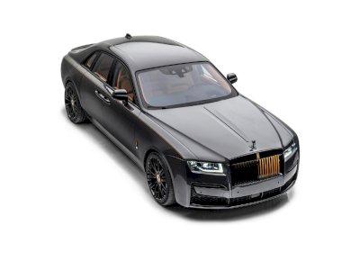 Mansory Hadirkan Kesan Mewah pada Rolls-Royce Ghost, Beri 'Embel-embel' Emas!
