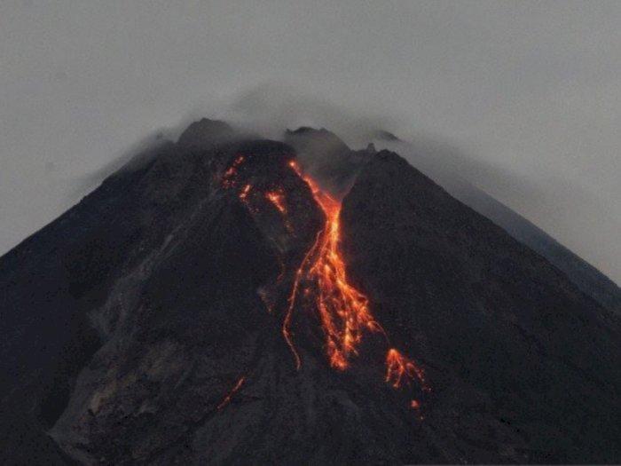 Pagi Ini, Gunung Merapi Luncurkan 5 Kali Guguran Lava Pijar ke Arah Barat Daya