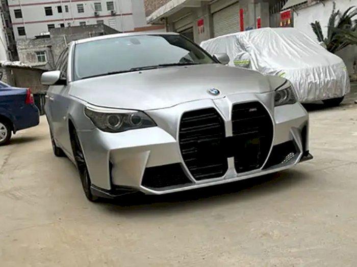 Bumper Kit Buatan Tiongkok Ini Bisa Sulap Mobil BMW Tua Jadi Model M3 Terbaru