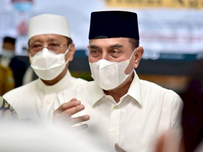 Gubsu Edy Berpesan, Meski Sudah Divaksin, Protokol Kesehatan Harus Tetap Dijalankan