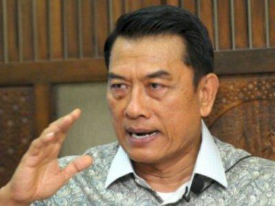 Moeldoko Berang saat Wartawan tanya soal Demokrat versi KLB: Jangan Ikut-ikutan Primitif