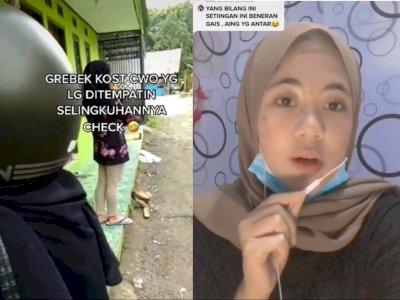 Gerebek Kosan Cowok Chek, Ternyata Ada Selingkuhan Pacarnya, Panik Gak?