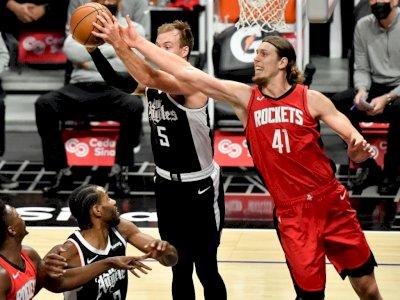 FOTO: Los Angeles Clippers Kalahkan Houston Rockets 126-109