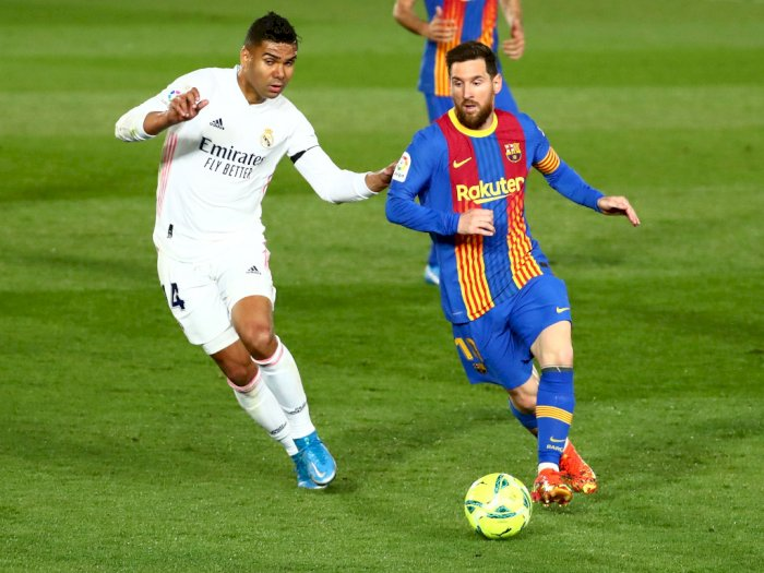 Real Madrid VS Barcelona: Los Blancos Menang 2-1