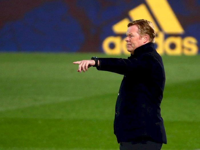 Kalah dari Real Madrid, Koeman Protes: Barcelona Harusnya Dapat Penalti