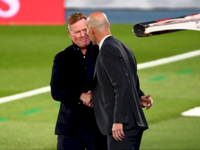 Koeman Protes Tak Dapat Penalti, Ini Jawaban Bijak Zidane