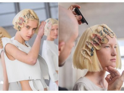 Teknik Baru Tata Rambut: Hair Printing, Kombinasikan Gaya Artnisanal dan Teknologi