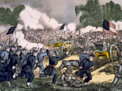 Peristiwa 12 April: Meletusnya Perang Saudara di AS antara Pasukan Union dan Konfederasi