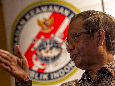 KPK Tak Dilibatkan Dalam Satgas BLBI, Mahfud MD Bilang Begini