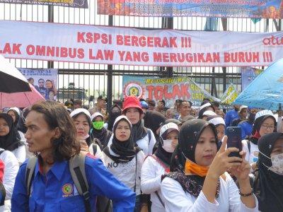 4 Tuntutan Demo Buruh KSPI Hari Ini, Tolak Omnibus Law Hingga Minta THR Tak Dicicil