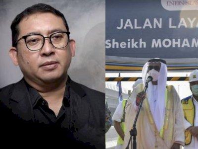 Fadli Zon Heran Nama Tol Jakarta-Cikampek Diganti Jadi Mohammed bin Zayed, 'Apa Jasanya?'