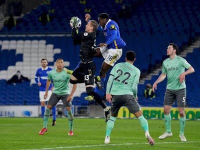 FOTO: Liga Inggris, Brighton vs Everton 0-0