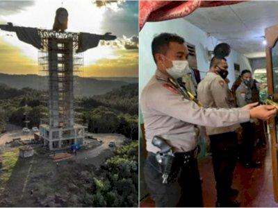 POPULER: Patung Yesus Terbesar di Dunia dan Kakek Cangkul Kepala Cucunya Hingga Tewas