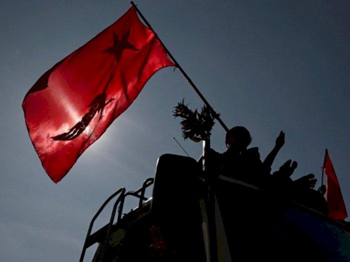 Aktivis Myanmar Bersumpah akan Tetap Berdemo Selama Liburan Thingyan