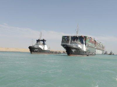 Ever Given Sudah Bebas dari Terusan Suez, Tapi Harus Bayar Rp14,6 Triliun Kalau Mau Pergi