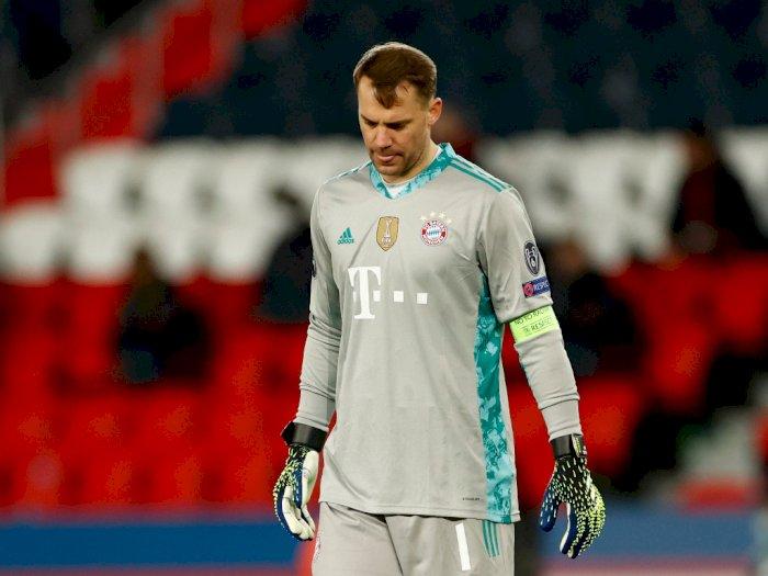 Tersingkir dari Liga Champions, Neuer Masih Sesalkan Kekalahan di Leg Pertama