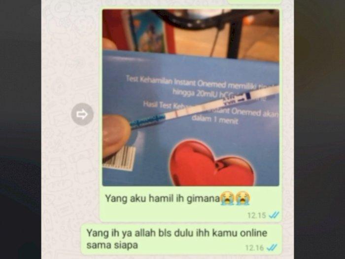 Viral Cewek Prank Hamil ke Pacar, Reaksi Kekasihnya yang Anggota TNI Jadi Sorotan