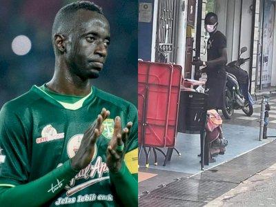 Makan Konate, Mantan Pemain Persebaya Viral Atas Kebaikannya Beri Uang ke Penjual Sarung