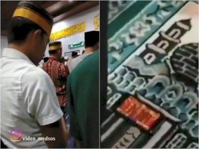 Astaga, Pemuda Ini Malah Main Game saat Salat Tarawih di Masjid, Banjir Kecaman Netizen